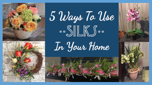 5 Ways to Use Silks In Your Home